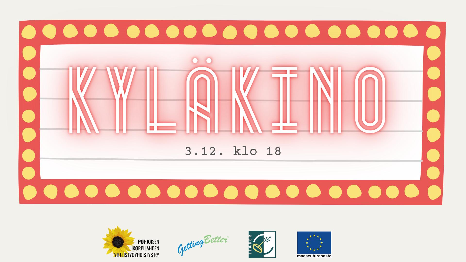 Kyläkino live stream 3.12. klo 18